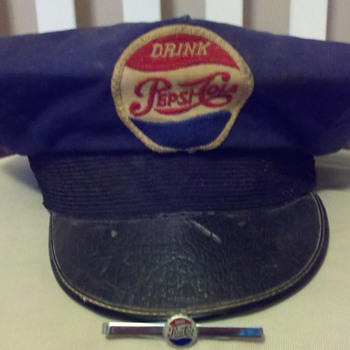 Pepsi Driver's Hat & Tie Pin - Hats