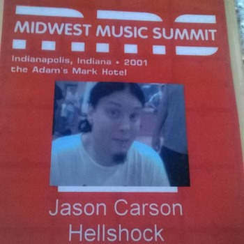 What is/was Hell Shock? Mobfest?  - Music Memorabilia