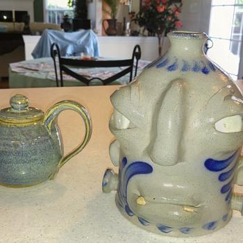 Face jug - Pottery