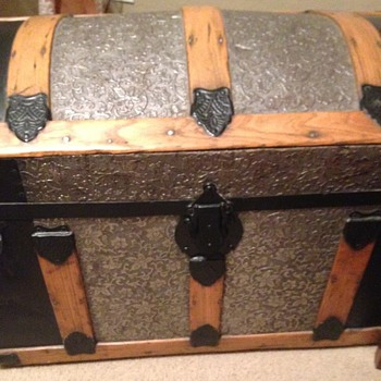 Steamer Trunk with Dome Top - Furniture
