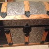 Steamer Trunk with Dome Top