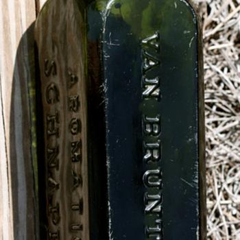 ~~~VAN BRUNT'S SCHNAPPS BOTTLE~~~ - Bottles