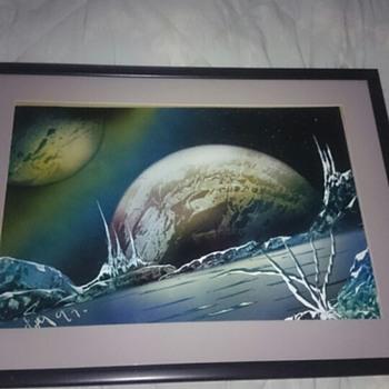 Great original Sci-fi artwork, any idea on artist?  - Fine Art
