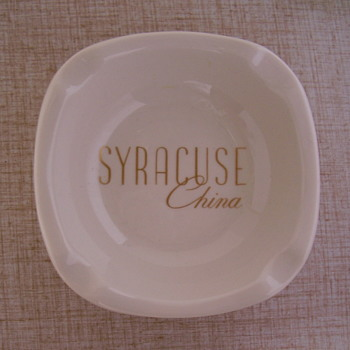 Vintage Ashtray by Syracuse China.... - China and Dinnerware