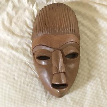 Unknown Wooden Mask - Fine Art