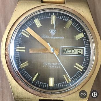 Vintage Jules Jurgenson Automatic Wrist Watch   - Wristwatches