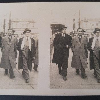 Mystery men - Photographs
