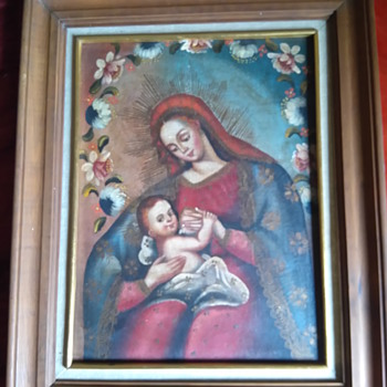 Cuzco School Painting  - Fine Art