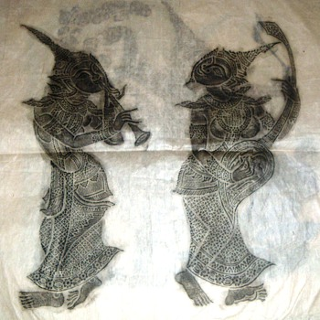 Balinese Rice Paper Art