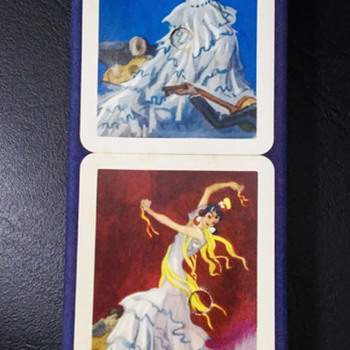 "Double deck ""Fournier"" from Spain- 50's - Cards"
