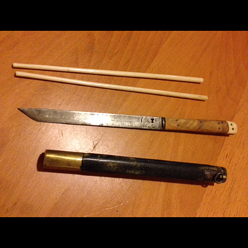 Japanese chopsticks with carry case