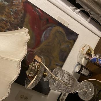 Glass lamp  - Lamps