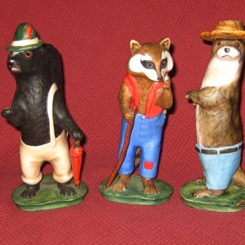 Goebel Old Mother West Wind Complete Set Of Characters  - Figurines