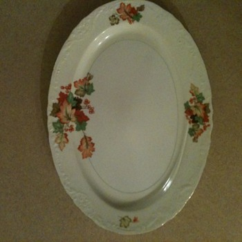 beautiful dish from wife's great-grandmother - China and Dinnerware