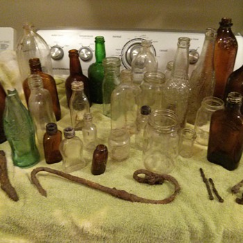 Question about some old bottles I just found! - Bottles