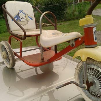 vintage childs 2 seat bike - Toys