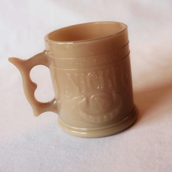 1980s Whataburger Glass Nickel Coffee Mug - Kitchen