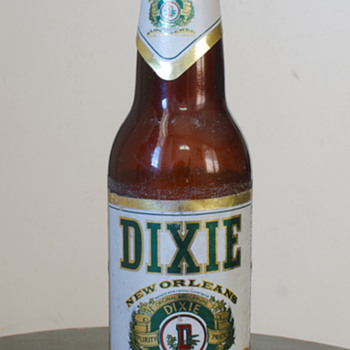 Dixie Beer Bottle - Breweriana