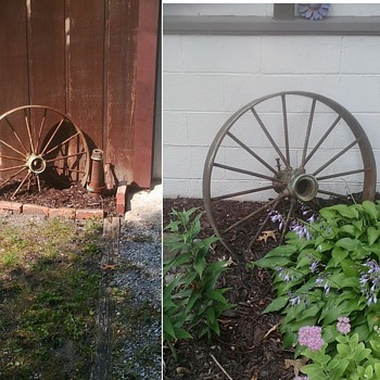 Old Wheels and farm tools! - Tools and Hardware