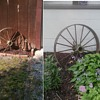 Old Wheels and farm tools!