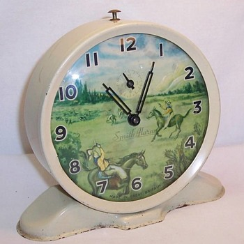 """Ranger"" Animated Alarm Clock - Clocks"
