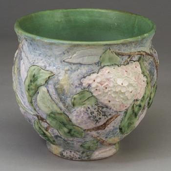weller silverstone jardinière - Pottery