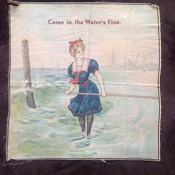 Swimsuit Girl 1908 Coney Island?