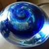 Blue Swirl - Artist Nancy Becker, Oregon