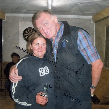 Our Daughter with Joe Bugner. - Photographs