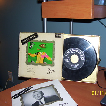 45s bing crosby  - Records