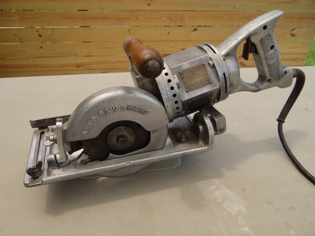 1928 black and decker 6 worm drive circular saw collectors weekly greentooth Image collections