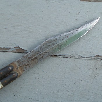 Lucite? handle Folding Knife - Tools and Hardware