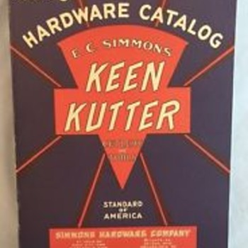 E.C. Simmons Keen Kutter 1930 Catalog