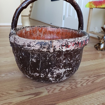 Fabric Covered Basket - Asian