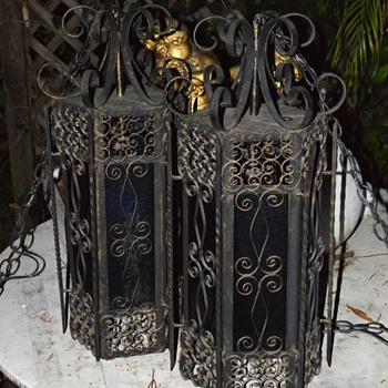 LARGE and very ornate lanterns