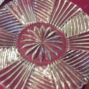 EAPG? platter - Glassware