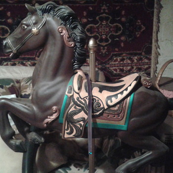 1971 Blazon carousel horse!