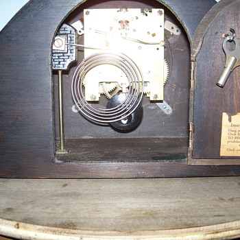 Enfield Mantle Clock restored