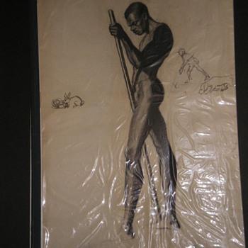 Arist; Palmer Hayden; - Fine Art
