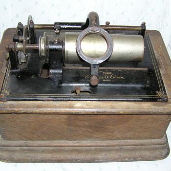 Edison model D standard phonograph. restoration