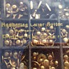 Wood & Glass MANHATTAN COLLAR BUTTON DISPLAY BOX WITH BUTTONS