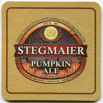 Stegmaier Brewing Company Material