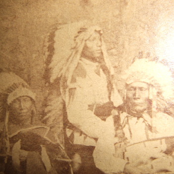Oglala Sioux CDV - Photographs