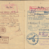 WW2 used Polish passport with late German visa