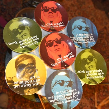 Andy Warhol Quotes Plates - Precidio - Fine Art