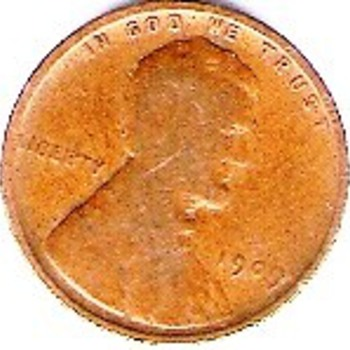 1909 Lincoln Penny - US Coins