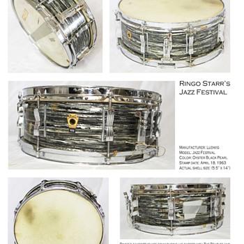 Ringo Starr drum prints-2018 - Music Memorabilia