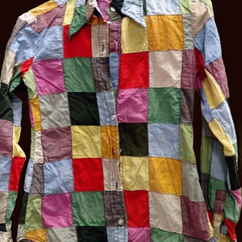 Nottingham NH Hippie Estate - India, patchwork shirt - Womens Clothing