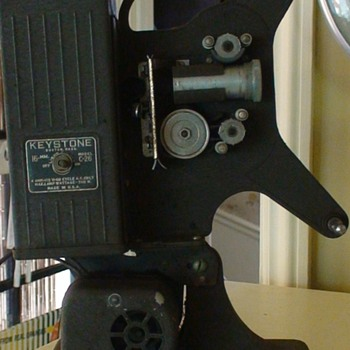 1940s Movie Projector Keystone of Boston, Model C-26, 16mm