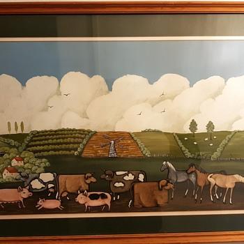 Favourite Farmyard scene - Animals